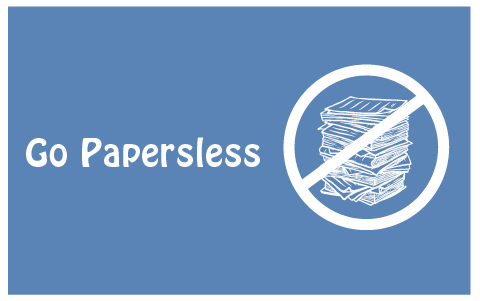 Evolution is a Constant Feature of Life … Go Paperless
