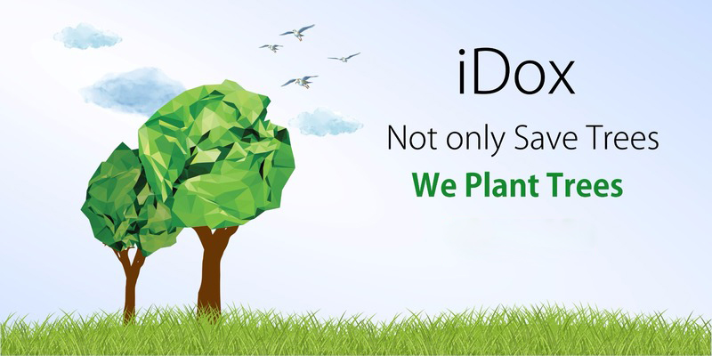 On the Annual Earth Day, Go Green with iDOX